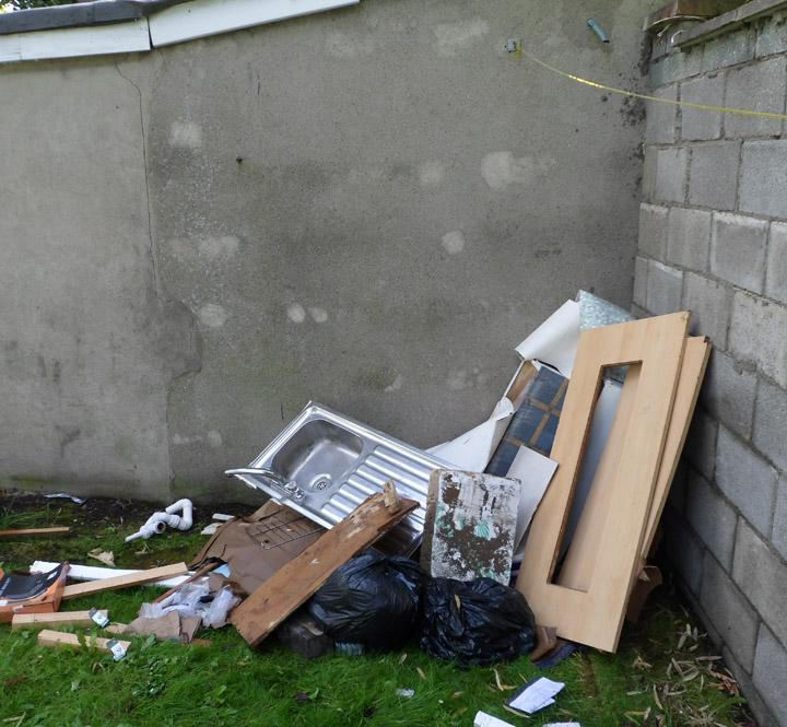Fly Tipping in New Milton
