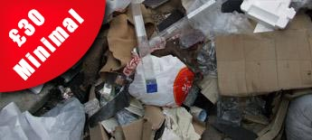 Rubbish Removal with £30 price tag